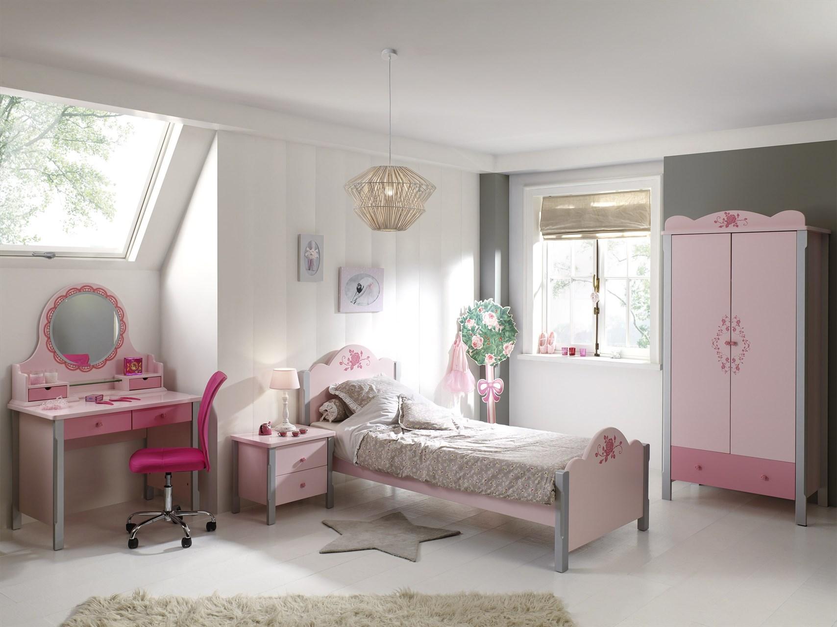 vipack complete slaapkamer cindy roze